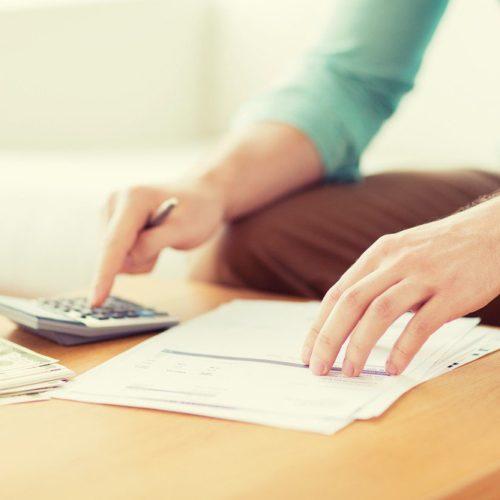Taschenrechner: Berechnung des Preises der Immobilie