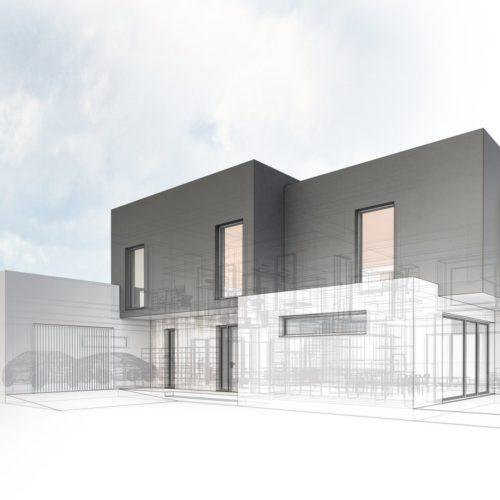 Entwurf Architektenhaus