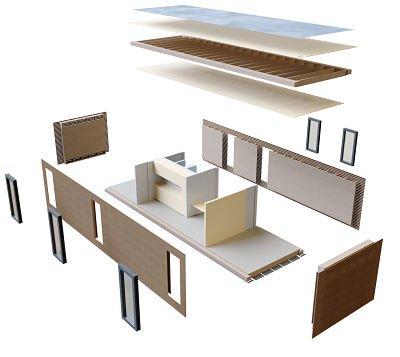 Das Aktivhaus Konstruktionsprinzip © AH Aktiv-Haus GmbH