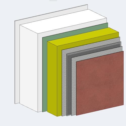 Dampfbremse, Dampfsperre, diffusionsoffen - Außenwand beim Fertighaus