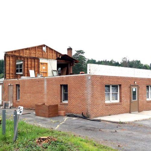 Bauruine, Bau ohne Dach