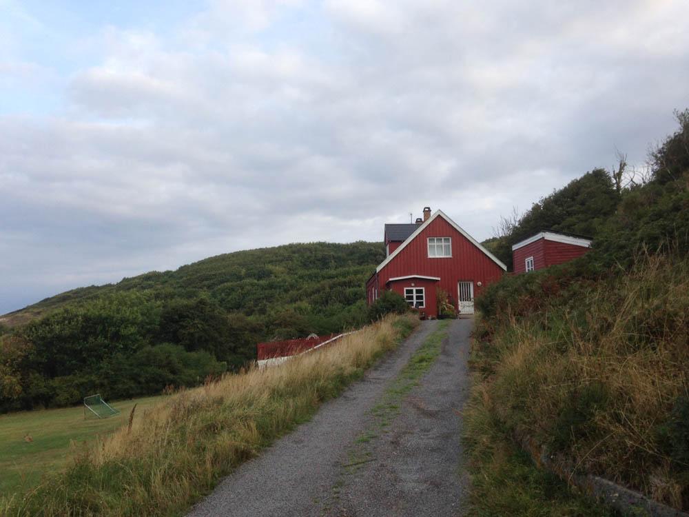 abgeschiedenes Landhaus