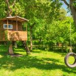 Baumhaus im eigenen Garten