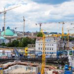 Bauen in Berlin - Baustelle Berlin Mitte