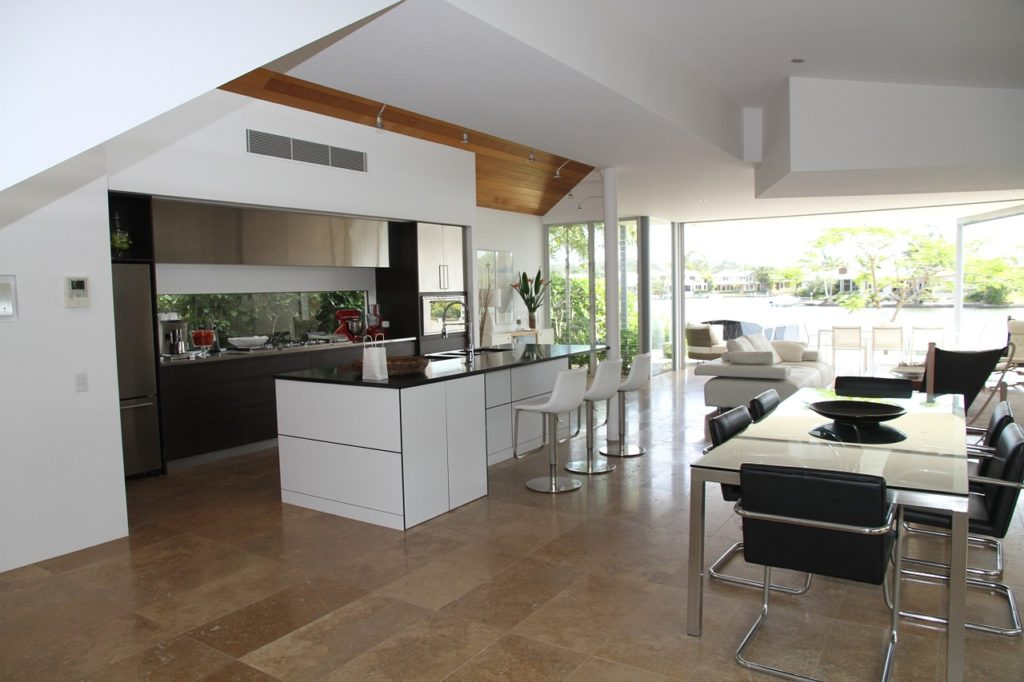 Wohnküche im offenen Grundriss